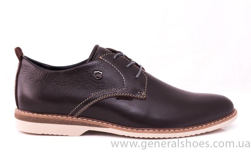 Мужские кожаные туфли E 1 Klaid br. фото 2