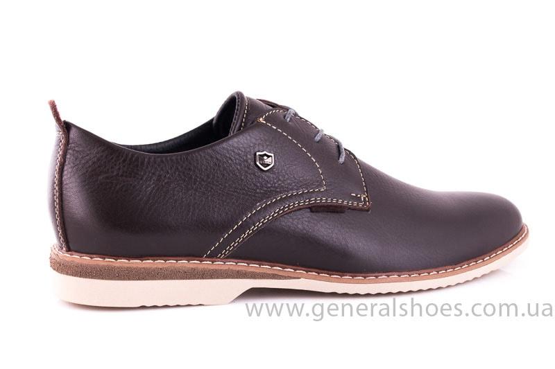 Мужские кожаные туфли E 1 Klaid br. фото 3