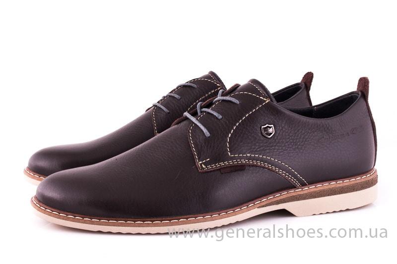 Мужские кожаные туфли E 1 Klaid br. фото 4