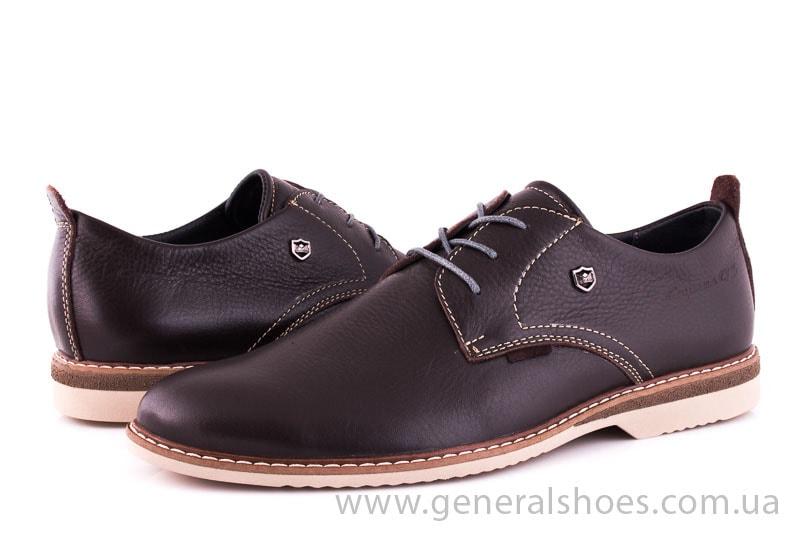 Мужские кожаные туфли E 1 Klaid br. фото 5