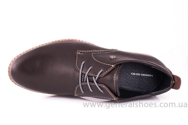 Мужские кожаные туфли E 1 Klaid br. фото 7
