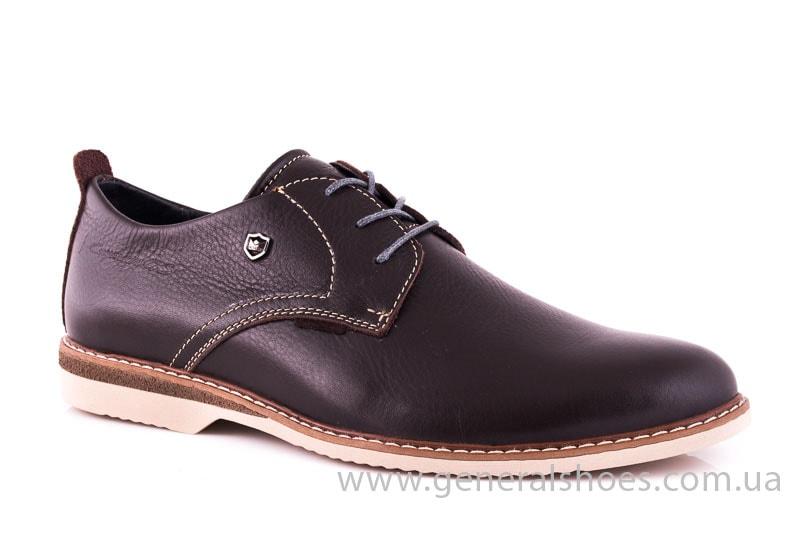 Мужские кожаные туфли E 1 Klaid br. фото 1