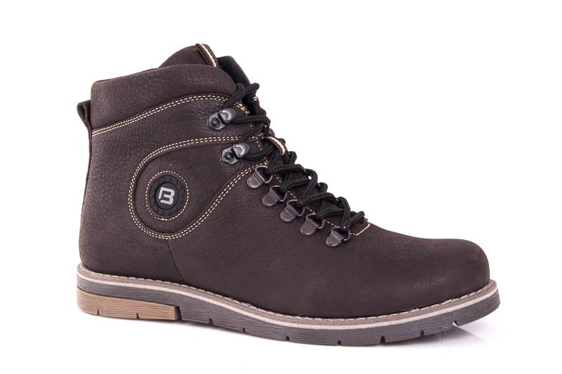 Мужские зимние ботинки Botus 03 кожаные фото 1