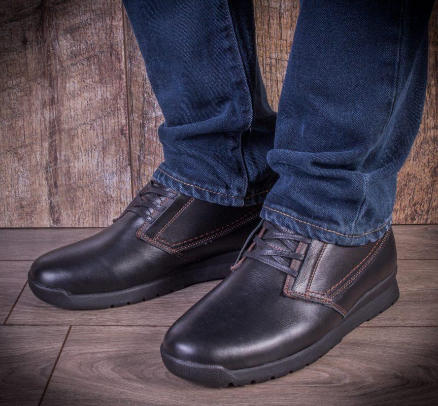 Мужские ботинки Ed-Ge TA blk фото 7