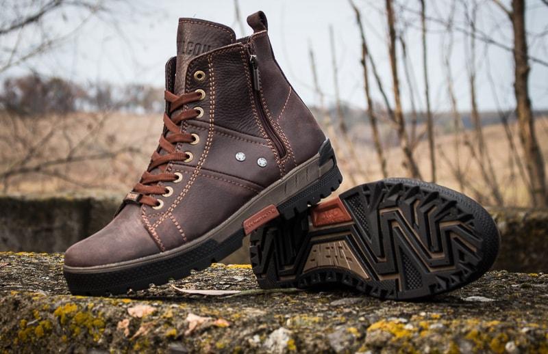 Мужские ботинки Falcon 3113 br.фото 10
