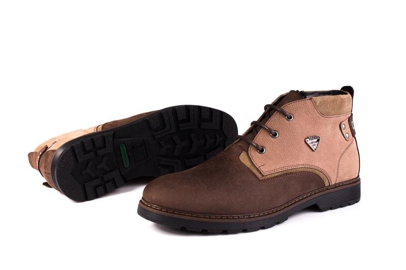 Мужские ботинки из нубука Rondo 750z/056R. фото 7