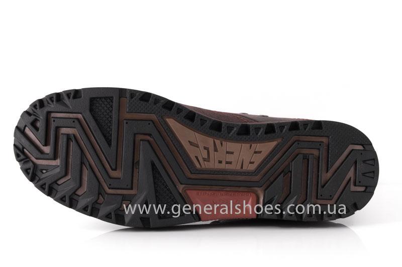 Мужские кожаные ботинки Falcon 3113 br фото 6