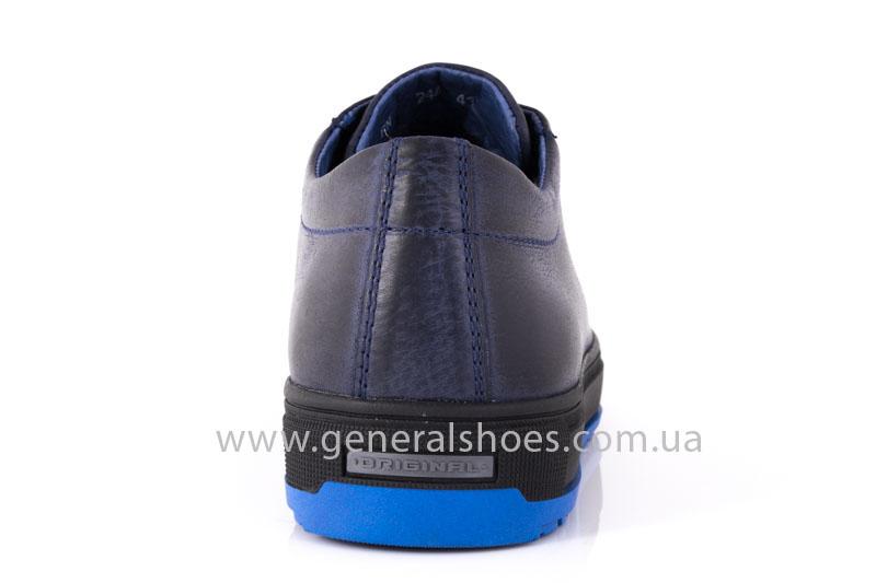 Мужские кожаные полуботинки Falcon B 244 blue, Заказать мужские зимние полуботинки на сайте generalshoes.com.ua с быстрой доставкой по Украине 1-2 дня. Гарантия. 100% кожа+ мех. Оплата при получении после примерки. фото 4