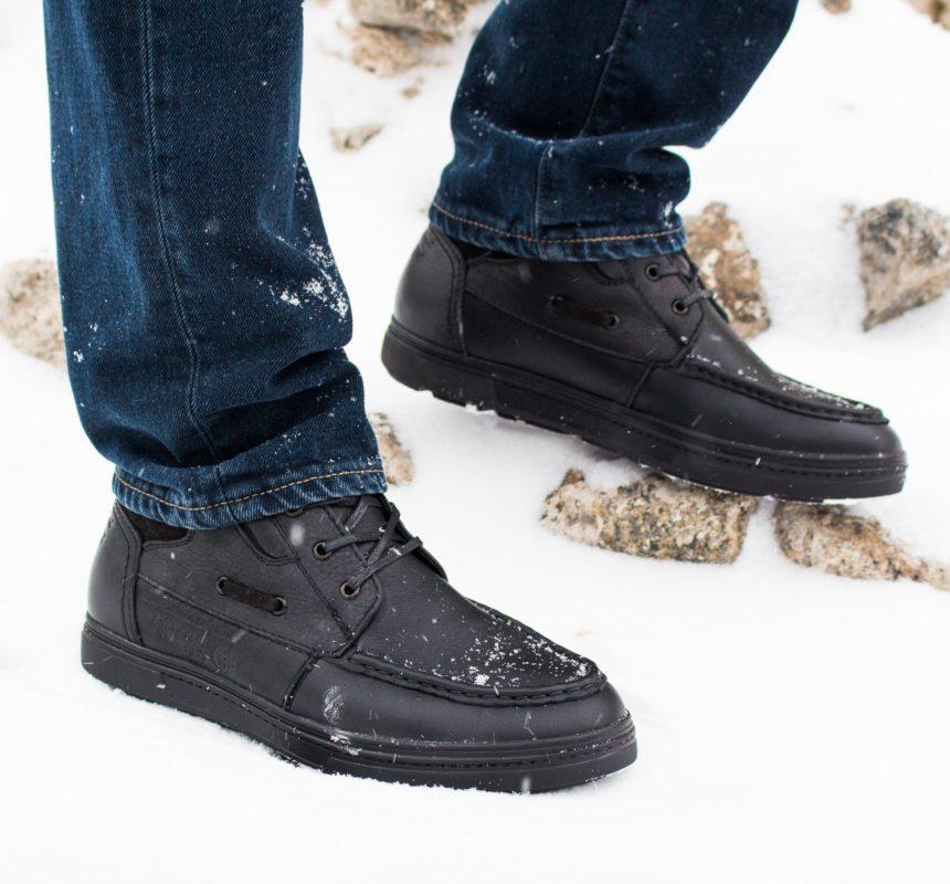 Мужские ботинки 50817 blk. фото 10