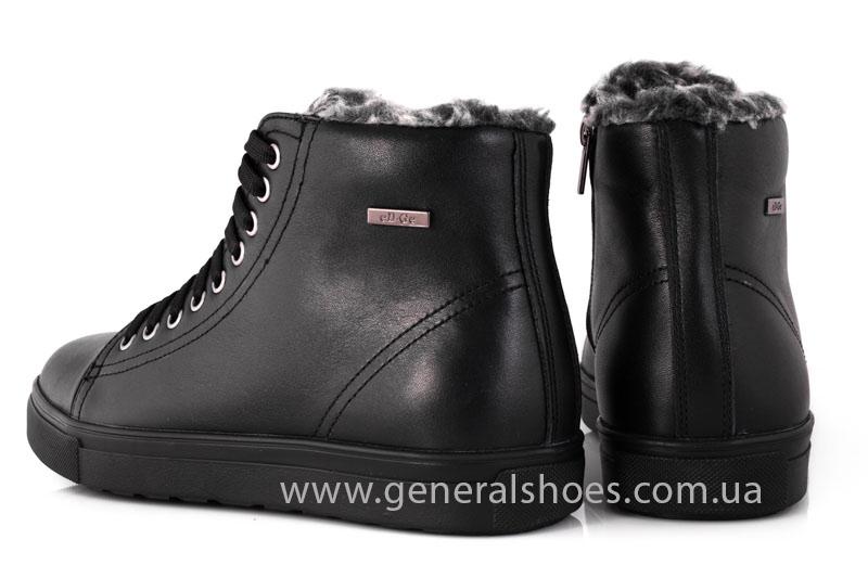 Мужские кожаные ботинки Ed-Ge R 17 blk. фото 10