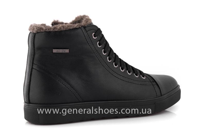 Мужские кожаные ботинки Ed-Ge R 17 blk. фото 3