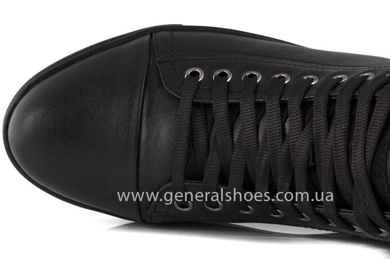 Мужские кожаные ботинки Ed-Ge R 17 blk. фото 6