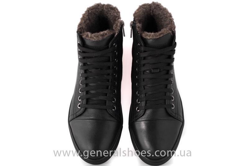 Мужские кожаные ботинки Ed-Ge R 17 blk. фото 7