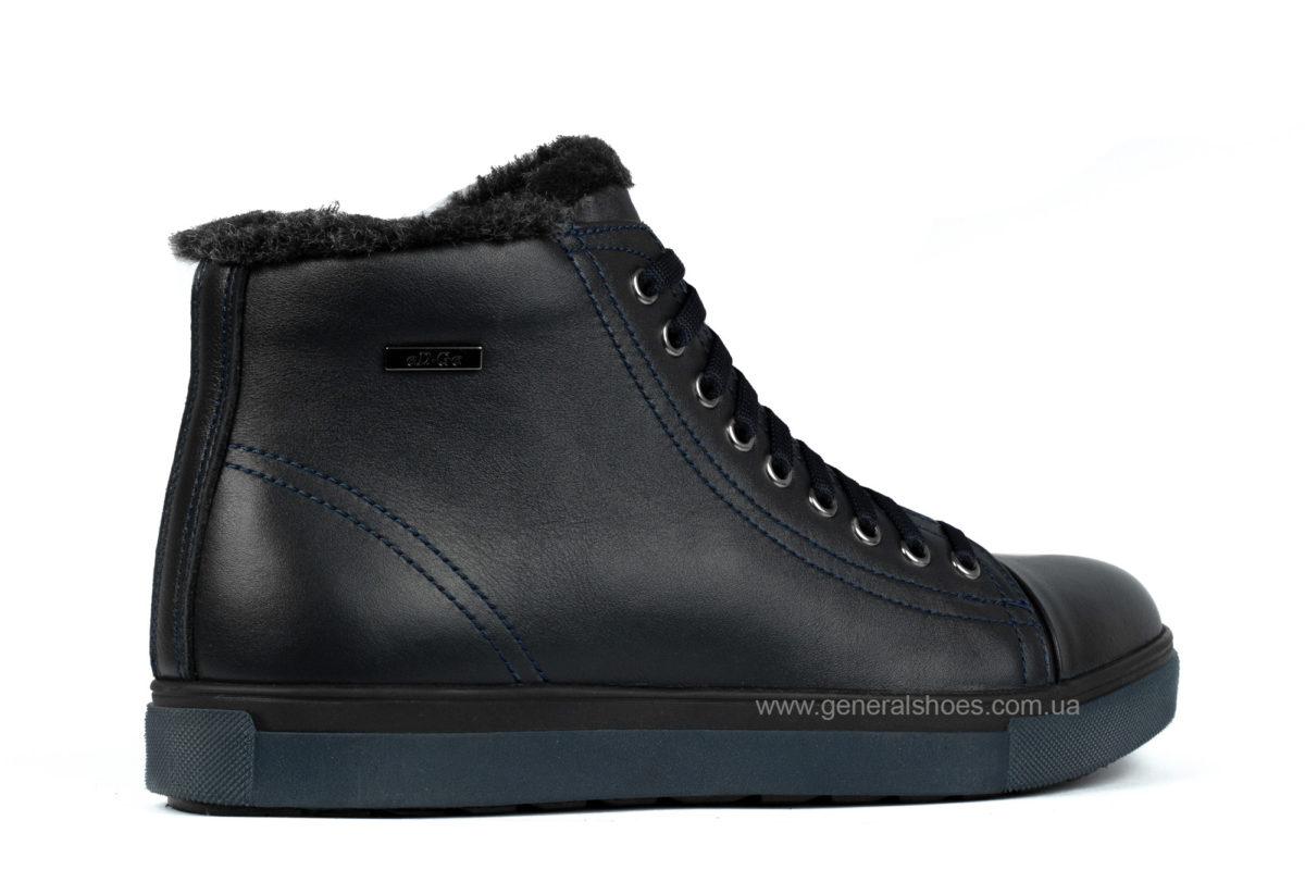 Мужские кожаные ботинки Ed-Ge R 17 blue фото 2