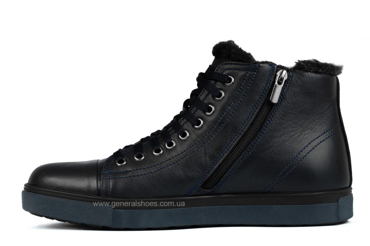 Мужские кожаные ботинки Ed-Ge R 17 blue фото 3