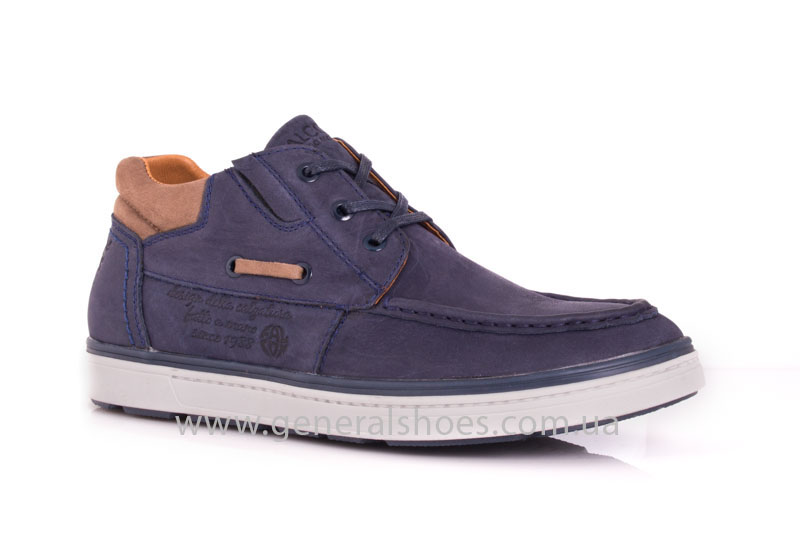 Мужские кожаные ботинки Falcon 50817 blue фото 1