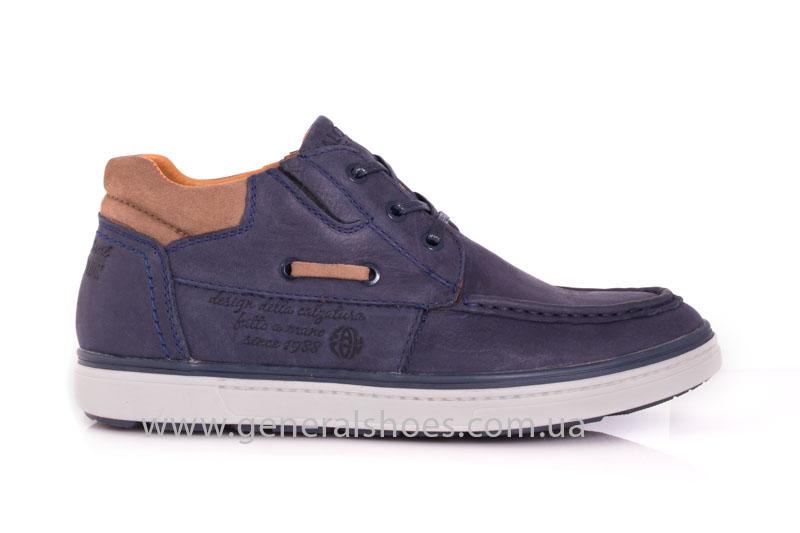 Мужские кожаные ботинки Falcon 50817 blue фото 2