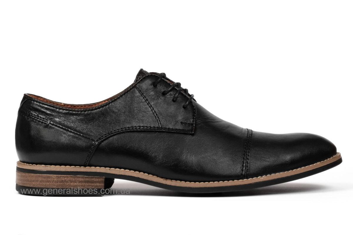 Мужские кожаные туфли Falcon 7915 blk