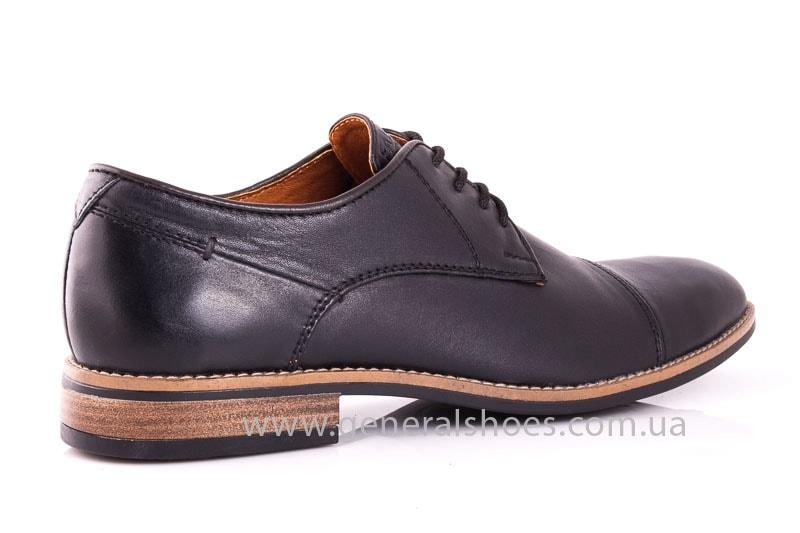 Мужские кожаные туфли Falcon 7915 blk фото 3