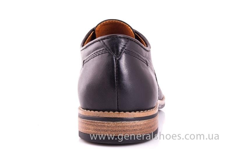 Мужские кожаные туфли Falcon 7915 blk фото 6