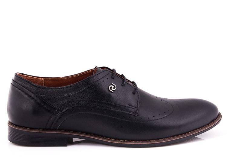 Мужские кожаные туфли Ed-Ge Dox blk фото 2