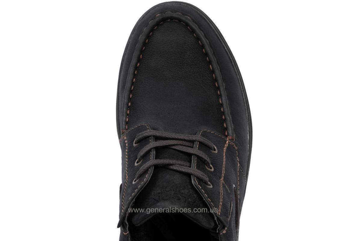 Мужские зимние кожаные ботинки Falcon 50817 blk.m. фото 6