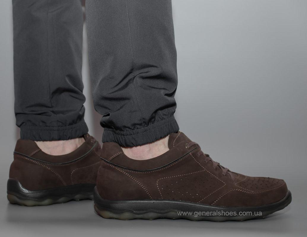 Мужские кроссовки из нубука Madiro 522-1113 br.
