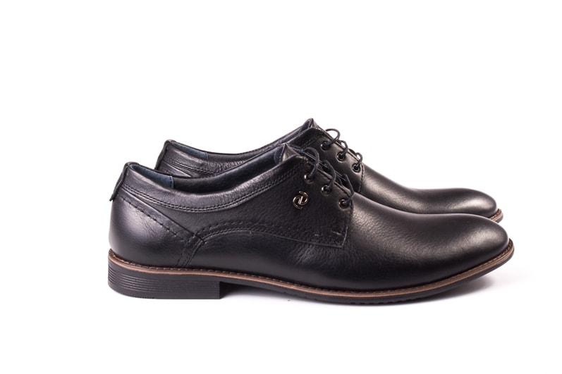 Мужские кожаные туфли Ed-Ge Direkt blk фото 2