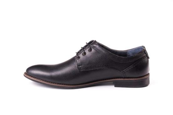 Мужские кожаные туфли Ed-Ge Direkt blk фото 4
