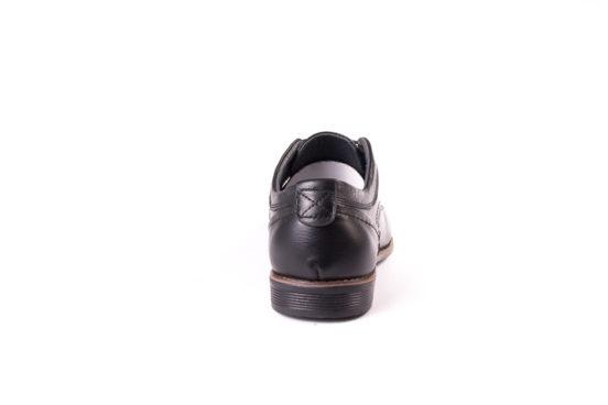 Мужские кожаные туфли Ed-Ge Direkt blk фото 5