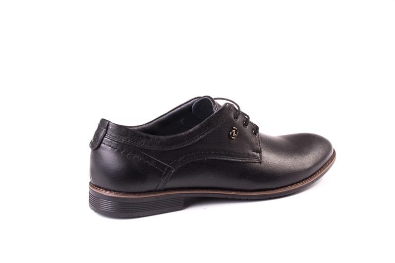 Мужские кожаные туфли Ed-Ge Direkt blk фото 3