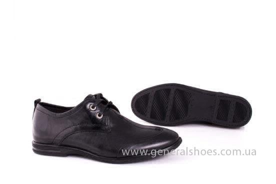Мужские кожаные туфли Esente 3102-377 blk фото 9