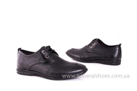 Мужские кожаные туфли Esente 3102-377 blk фото 8