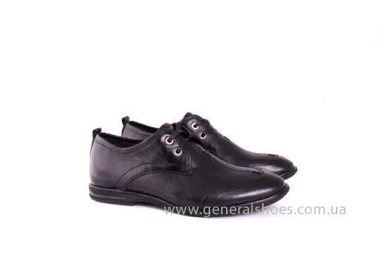Мужские кожаные туфли Esente 3102-377 blk фото 7