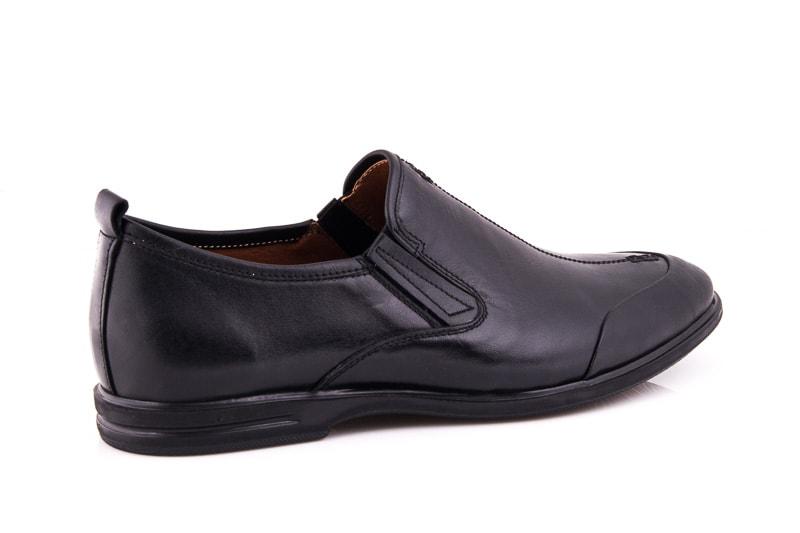 Мужские кожаные туфли Esente 3202-452 blk фото 2