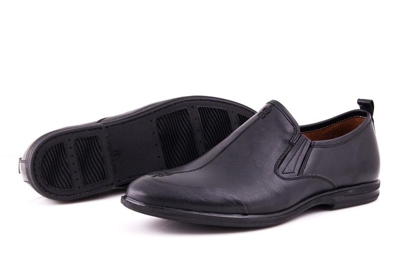 Мужские кожаные туфли Esente 3202-452 blk фото 4