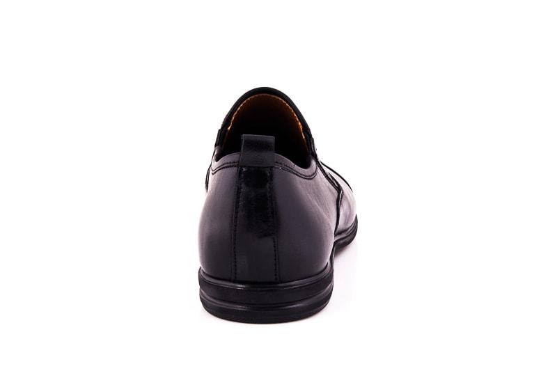 Мужские кожаные туфли Esente 3202-452 blk фото 5