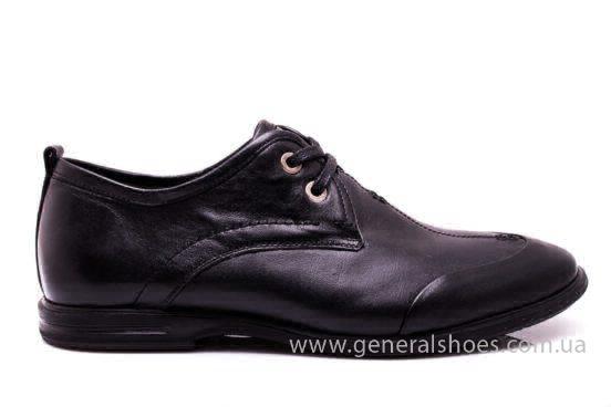 Мужские кожаные туфли Esente 3102-377 blk фото 2