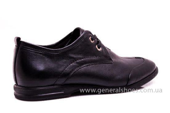 Мужские кожаные туфли Esente 3102-377 blk фото 3