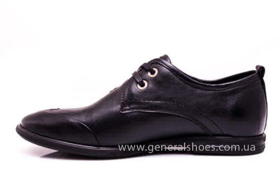 Мужские кожаные туфли Esente 3102-377 blk фото 5