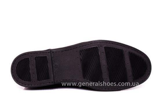 Мужские кожаные туфли Esente 3102-377 blk фото 10
