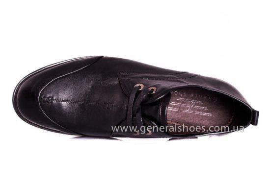 Мужские кожаные туфли Esente 3102-377 blk фото 4