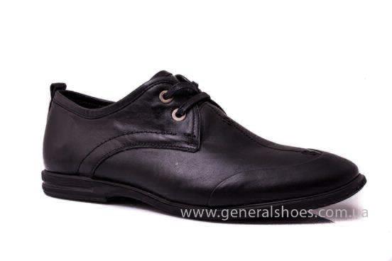 Мужские кожаные туфли Esente 3102-377 blk фото 1