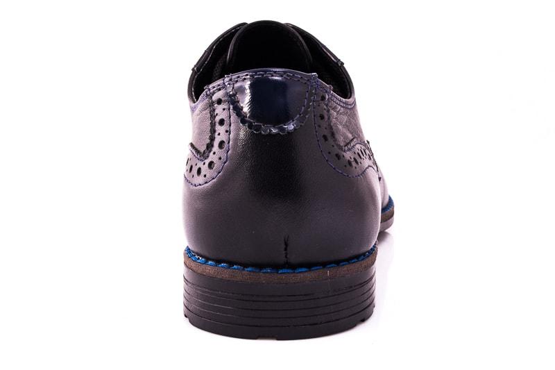 Мужские туфли Falcon 7715 blk фото 4