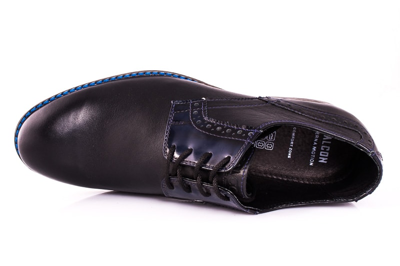 Мужские туфли Falcon 7715 blk фото 6