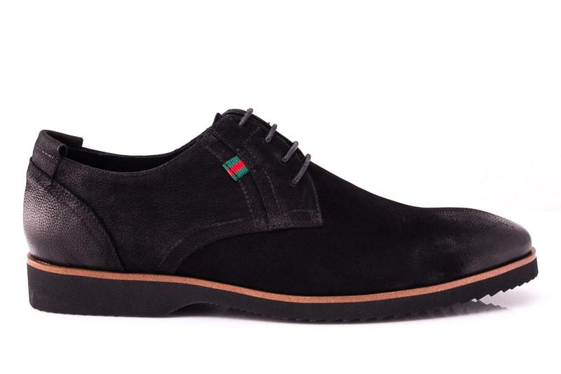 Мужские туфли M 1631-1-8 bln. фото 2