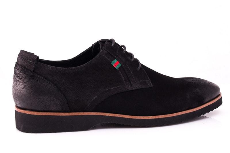 Мужские туфли M 1631-1-8 bln. фото 3