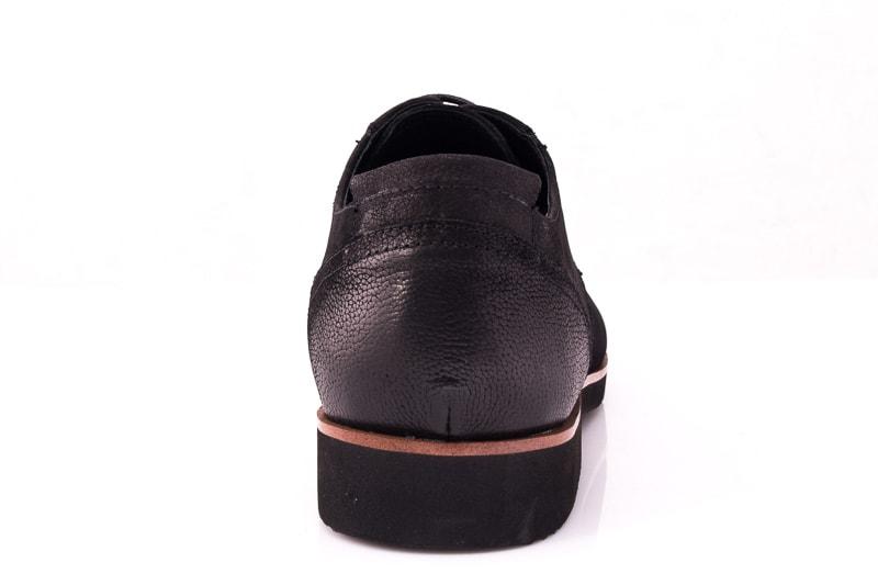 Мужские туфли M 1631-1-8 bln. фото 4