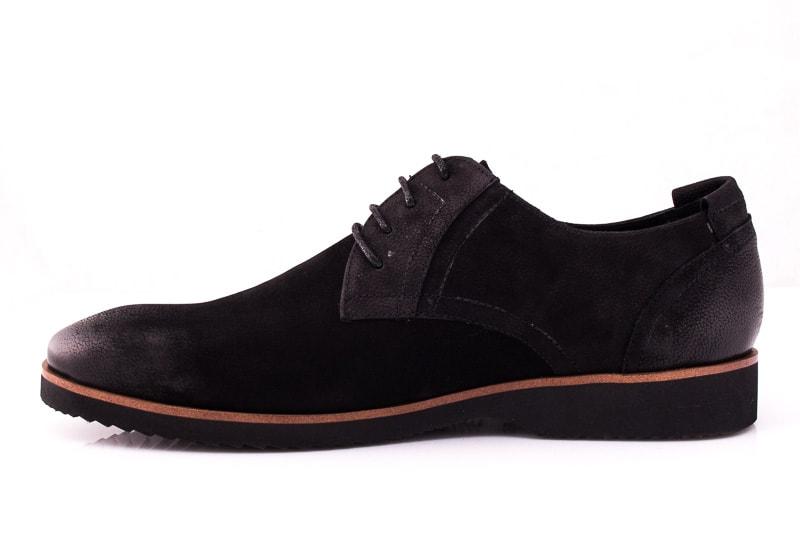Мужские туфли M 1631-1-8 bln. фото 5