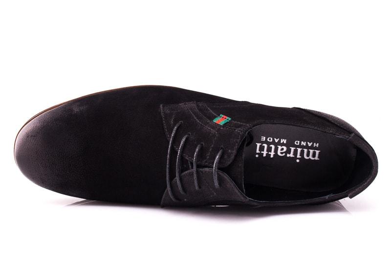 Мужские туфли M 1631-1-8 bln. фото 6